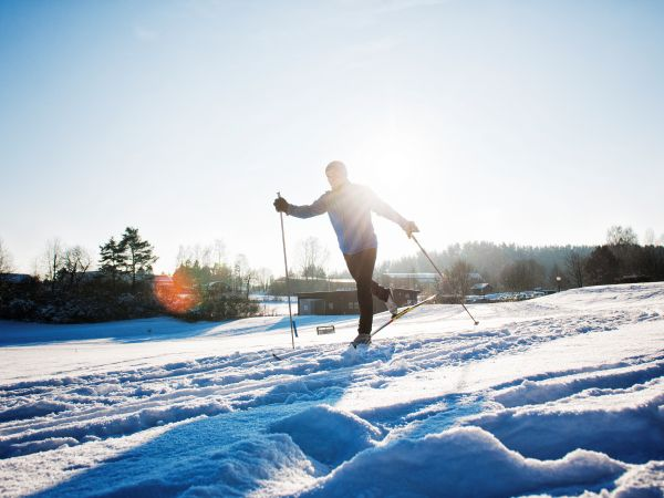 Ski-Langlauf in der Fränkischen Schweiz