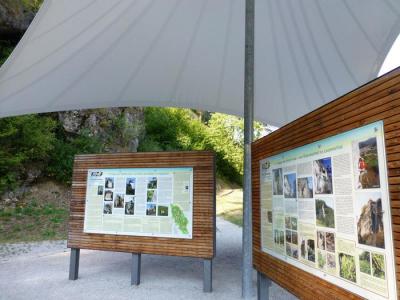 Kletterinfozentrum KIZ im Trubachtal