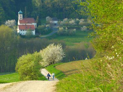 Dorfkirche in der Fränkischen Schweiz