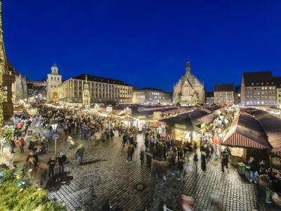 Christkindlesmarkt Nürnberg; Foto: Uwe Niklas